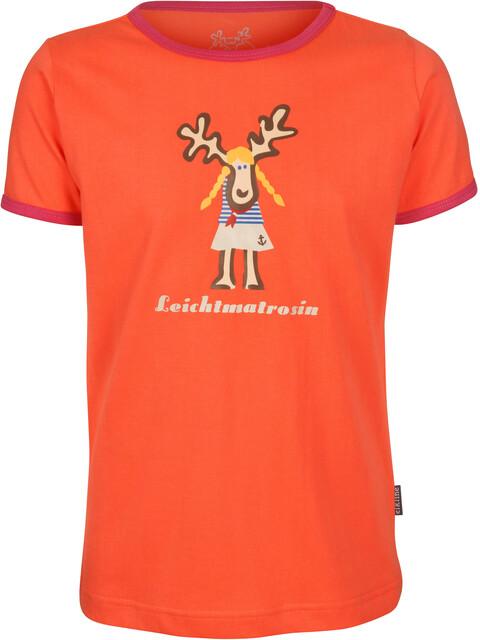 Elkline Leichtmatrosin T-Shirt Girls coral